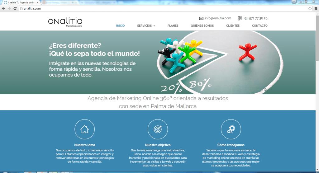 Campañas de publicidad online en adwords Mallorca. Publicidad en redes sociales y publicidad en buscadores. Campañas de email marketing en Mallorca